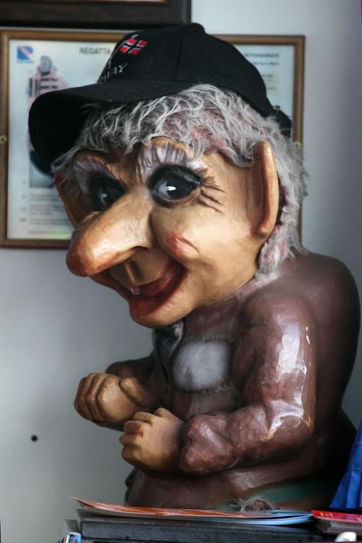 Authentique troll norvégien.