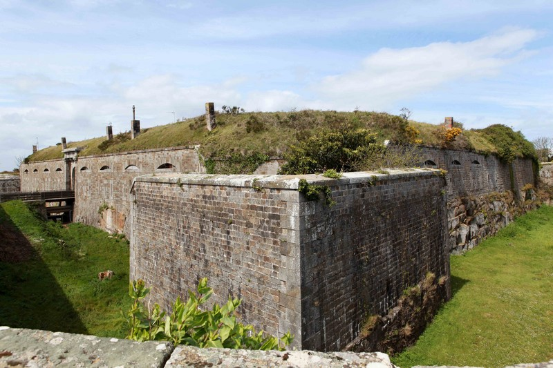 Chausey - fort