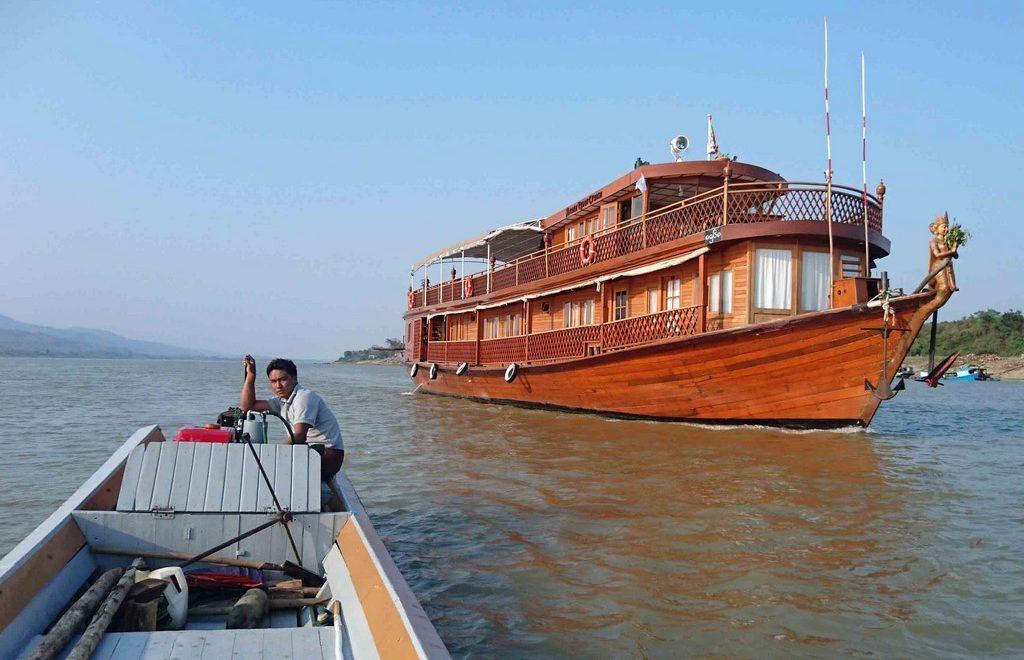 Birmanie – De Bhamo à Mandalay au fil du fleuve Irrawaddy