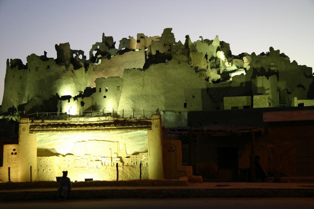 Les ruines fantomatiques de l'ancienne cité de Shali témoignent d'une architecture en voie de disparition.