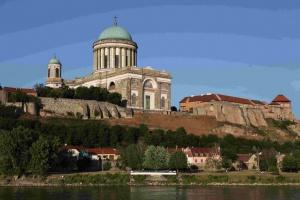 La basilique d'Esztergom est considérée comme la plus belle église de Hongrie.