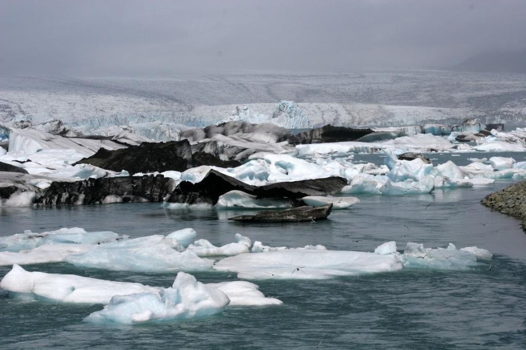 Le Jökulsárlón est une lagune créée par la fonte du glacier Vatnajökull, cette immense calotte glaciaire qui se trouve au sud de l'Islande.