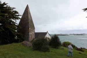 Chausey - église