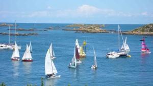 Chausey - bateaux à voile