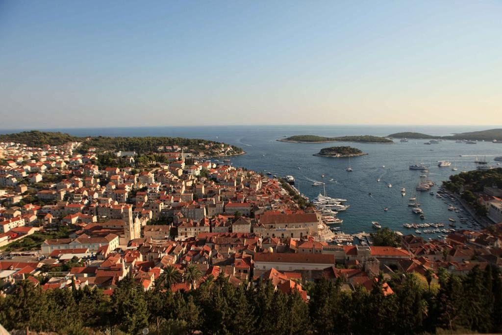 Vue de la ville depuis la forteresse.
