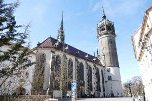 Wittenberg, église du château.