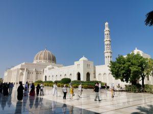 Grande Mosquée du Sultan Qaboos à Mascate.
