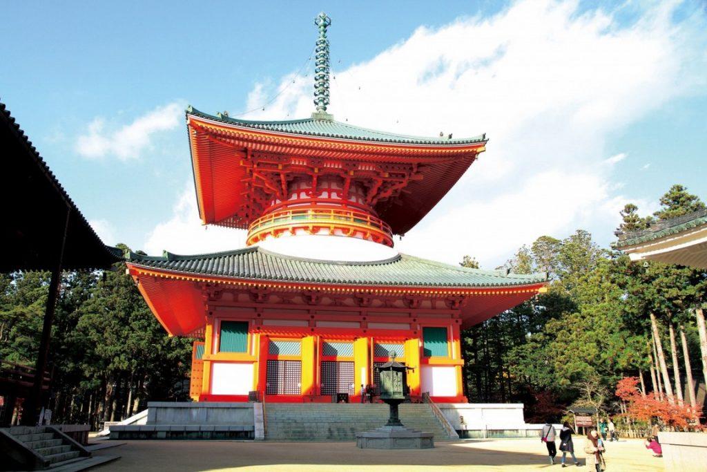 Pagode Konpon Daito à Koyasan