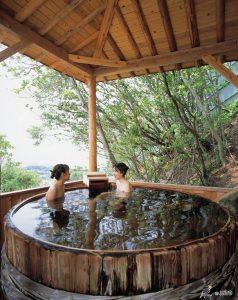 Vous ne manquerez cependant pas d'un lieu pour vous relaxer car chaque auberge de Yunomine et des environs offre son propre onsen.