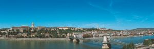 Budapest vue panoramique.