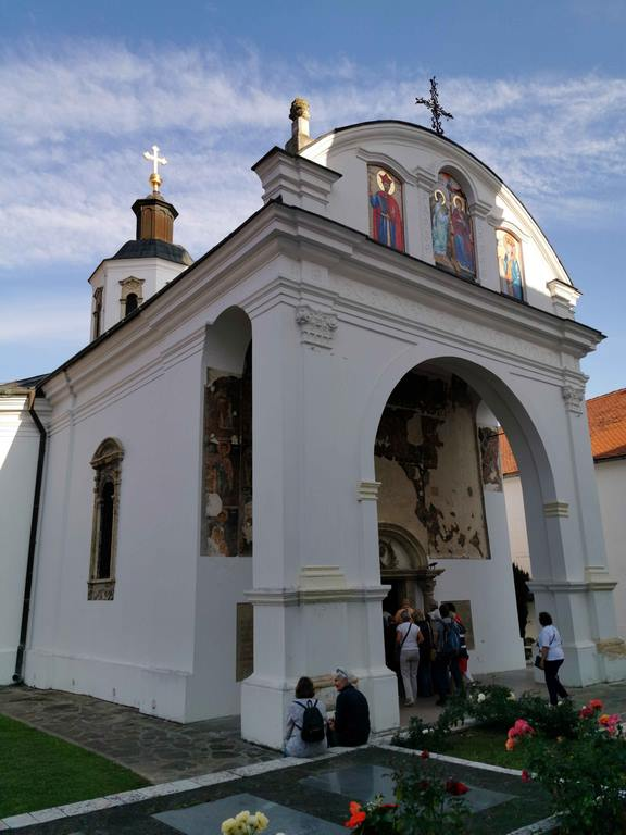 Eglise du monastère de Krušedol.