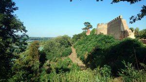 Pan de la forteresse d'Ilok dominant la rive croate danubienne.