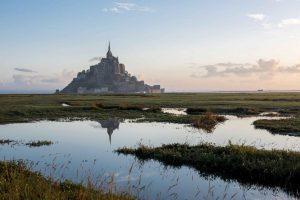 Le Mont-Saint-Michel. Normandie.