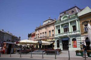 Novi Sad. Façades baroques.