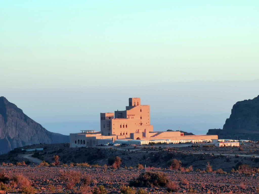 Palais de l'émir du Qatar sur le plateau de Sayq.
