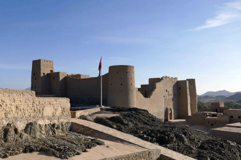 Oman. Fort de Bahla.