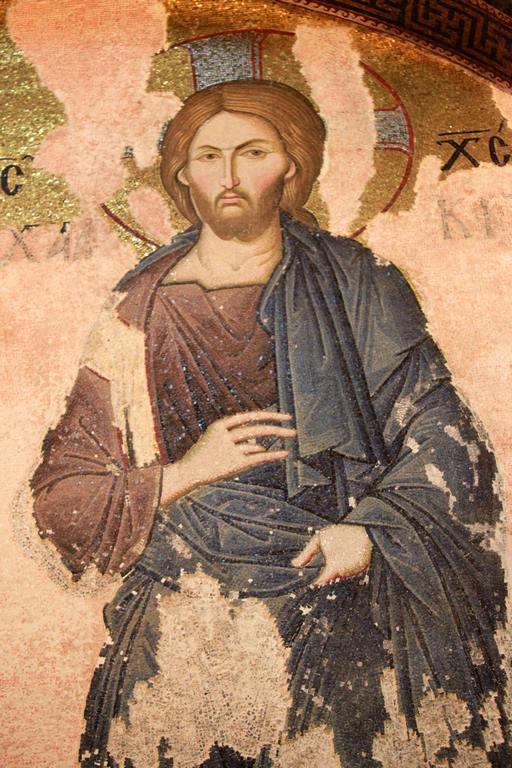 Jésus de Khalke dans le narthex intérieur de Chora.