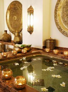 Zanzibar. Baraza resort. La bain du Sultan, au Spa Frangipani. @zanzibar collection.