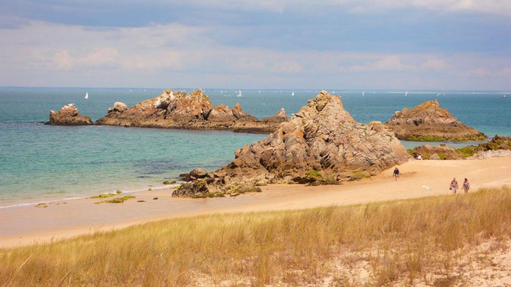 Houat est un véritable havre de paix où la mer, le littoral et la lande rivalisent de beauté.