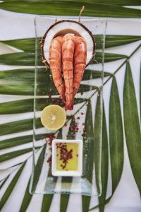 Zanzibar. Baraza resort. La cuisine fait une belle place aux produits locaux.