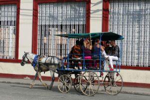 Santiago de Cuba. Taxi collectif.