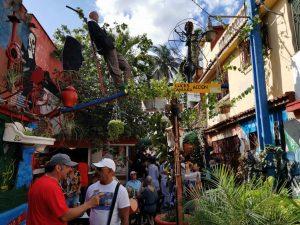 La Havane. Callejon de Hamel.