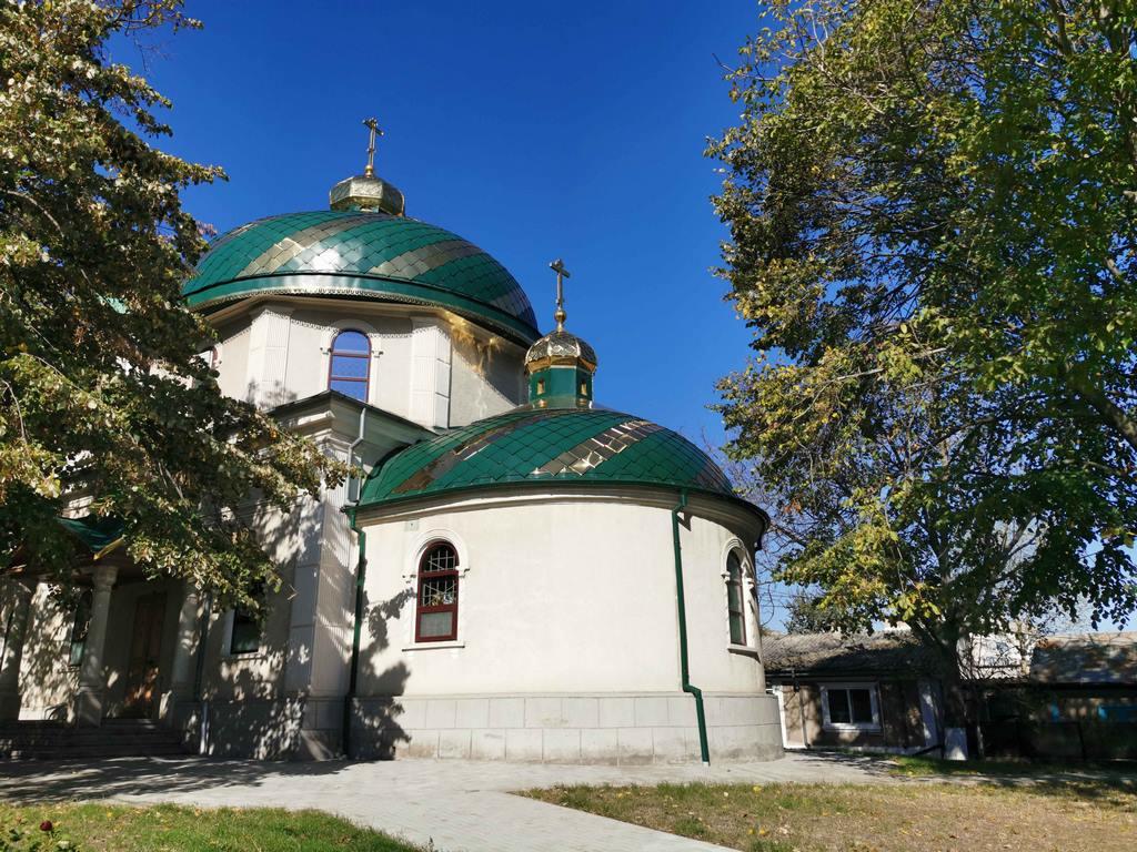 Roumanie. Tulcea. Petite église orthodoxe.
