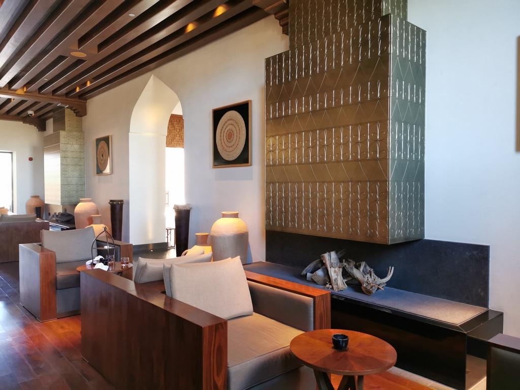Oman. Un des salons de l'Anantara Al Jabal Al Akhdar.